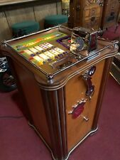 "1940's 25 Cent PACE REELS Console Slot Machine Fully Restored ""Watch Video"""