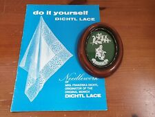 Vintage Brussels Lace Making Picture & Do It Yourself Dichtl Pattern Booklet