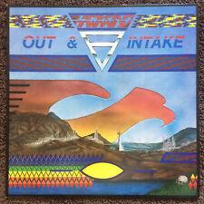 Hawkwind - Out & Intake + orig inner slv, UK LP 1987 (Flicknife SHARP 040) (Fi)