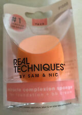 1 REAL TECHNIQUES Miracle Complexion Sponge Orange For Face