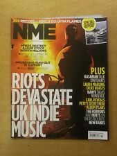 NME AUGUST 20 2011 KASABIAN LAURA MARLING KANYE WEST THE HORRORS WILL YOUNG