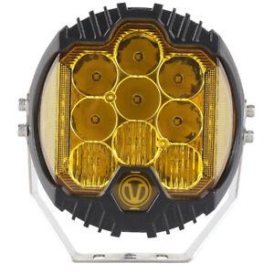 "1PCS Amber Car  7"" Off-Road 90W Cree LED Work Headlight 8000LM Waterproof Light"