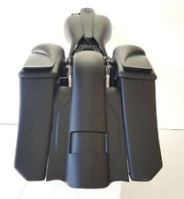 "Slope Angled Saddlebags Stretched Replacement Fender 8"" Speaker Lids Harley 6"""