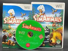 """NINTENDO WII SPIEL"""" SIMANIMALS Sims """" KOMPLETT"""