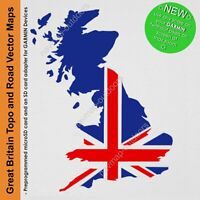 2020 GARMIN TOPO GREAT BRITAIN VECTOR MAPS FOR HANDHELD GPS UNITS 1 : ANY SCALE