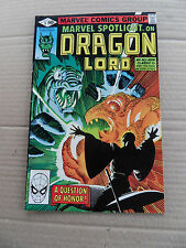 Marvel Spotlight (vol 2)  5 . Dragon Lord . Marvel 1990 . FN / VF