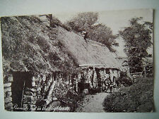 Peasants Hut in the Highlands Old Postcard Yes or No Series