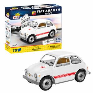 COBI  Auto / Cars Bausatz SET 24524 Fiat Abarth / Car weiß