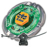 Beyblade Flame Libra T125ES Metal Fusion 4D BB-48 With LL2 Launcher and Rip Cord