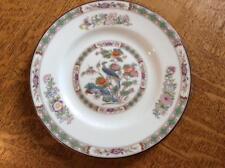 "Wedgwood Kutani Crane bone china 6"" bread plate brown rim"
