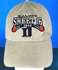 size 40 826ac da710 NCAA MEN S SWEET 16 2010 BASEBALL HAT BEIGE ADJUST STRAP TOP OF THE WORLD  EUC