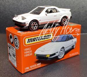 2021 MATCHBOX 1984 TOYOTA MR2  POWER GRAB HERITAGE BOX 14/100 3+