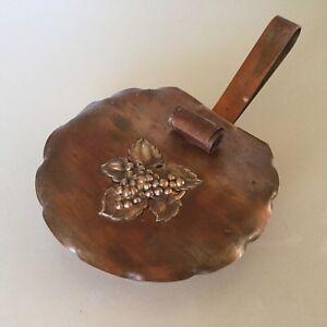 Drumgold Copper Ashtray  Vintage Circa 1950's   Nice Piece !!!