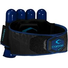 Carbon CC Harness Paintball Battlepack 4+5 (blau)