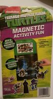 TMNT Ninja Turtles Magnetic Activity Fun Ages3+ Travel Kids Nickelodeon NEW