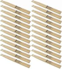 24 Paar DIMAVERY DDS-5B Junior Drumsticks, Ahorn Maple Schlagzeugstöcke Sticks