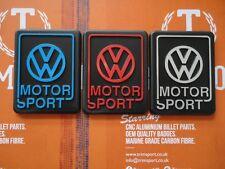 Trimsport VW Motorsport LIMITED EDITION Blue Red Silver Badge