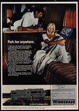 1971 WINNEBAGO CHIEFTAIN II Motor Home Pretty Woman Park Her Anywhere VINTAGE AD