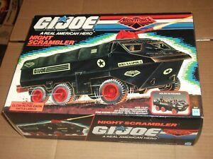"1989 3 3/4"" GI Joe NIGHT SCRAMBLER BOX"