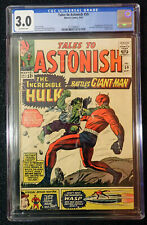 Tales To Astonish #59 🔥 CGC 3.0 🔥 Hulk battles Giant-Man! 1964