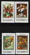 Romania 1979 Sc2922-4,B445 Mi3619-22 4v mnh Flower Paintings by Stefan Luchian
