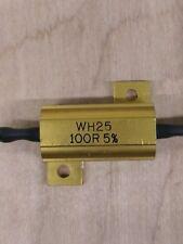 Aluminium Clad Power Resistors 100R, 25W