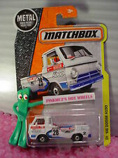 2016 MATCHBOX '66 DODGE A100 #39☆White/blue/Red; SUPPORT TEAM 28☆Construction☆