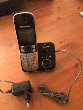 Panasonic KX-TG6721G-B Schnurlostelefon mit AB - Schwarz-Silber