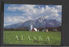 Alaska Joe  Colour Postcard General View Matanuska Valley Alaska  unposted
