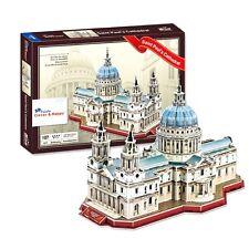 Saint Paul's Cathedral London Dome Church 3D Puzzle (107 Pcs) New