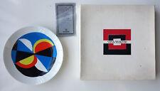 Sonia Delaunay-Windsor -Plate- No 263/900-ARTCURIAL-With original Box