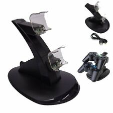 Dual USB Charging Charger Dock Station Stand Playstation 4 PS4 Controller NEW