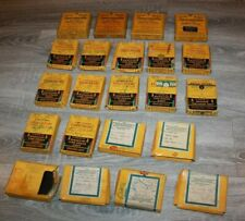 Lot of 22 Vintage CINE KODAK  Sensitive Safety Film  & Kodachrome  1930's,1940's