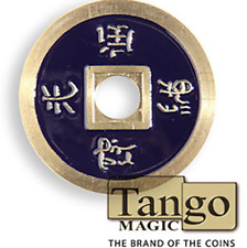 Dollar Size Chinese Coin (Purple) by Tango (CH034) ships from Murphy's Magic