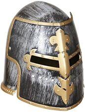 Widmann 01125 - Elmo da Guerriero medievale con Visiera in Taglia unica