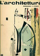 L'ARCHITETTURA. Cronache e storia. Direttore Bruno Zevi. 1963, N.98