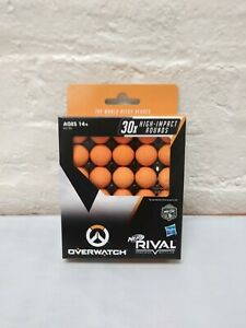 NERF Rival Overwatch Balls 30x High Impact Rounds Refill Pack