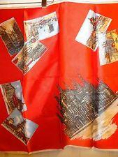 souvenir scarf from Milano-Il Duomo,Italy 26x26