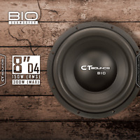 "CT Sounds Bio 2.0 8"" D4 True 300 WATTS 8 Inch Dual 4 Ohm Car Audio Subwoofer Sub"