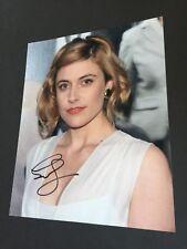 "GRETA GERWIG ""Lady Bird"" signed In-person in Berlin 2018 Foto 20x25 Autogramm"