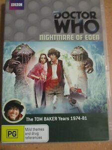 DOCTOR WHO DVD TOM BAKER NIGHTMARE OF EDEN