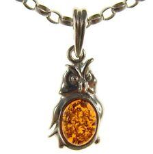 Collares y colgantes de joyería con gemas de ámbar