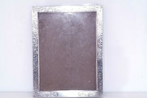 Vtg Sterling Silver Picture Frame for repair