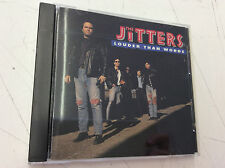 Louder Than Words by The Jitters RARE (CD, 1990, Capital) Tested! Works!
