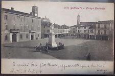 1905 - Varese - GALLARATE - Piazza Garibaldi