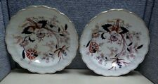 2 Fresian Booths Soup Bowls A8022 Transferware Hand Painted Highlights   RN