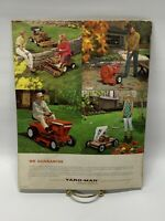 Vintage Print Ad 60's Advertising Yard-Man Lawn Mower Booklet ~ 1968 800-10