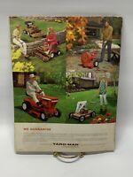 Vintage Print Ad 60's Advertising Yard-Man Lawn Mower Booklet ~ 1968 800-10