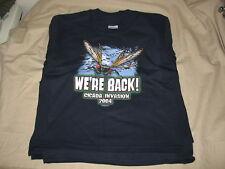 gildan youth size large t-shirt cicada wholesale lot 12 blue thick cotton