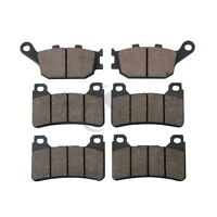 Front/&Rear Motorcycle Brake Pads For KAWASAKI ZX-6R ZX 636 03-06 Brand New